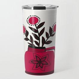 Floral vibes X Travel Mug