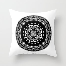 Chalice Mandala Throw Pillow