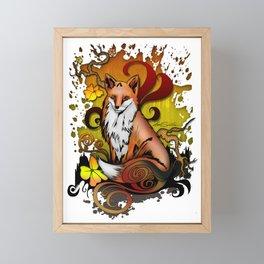Outdoor Fox Framed Mini Art Print