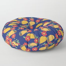Taco Lovers Fiesta Floor Pillow