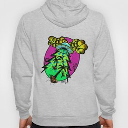 Frantic InterGalactic by Fred Gonzalez Hoody