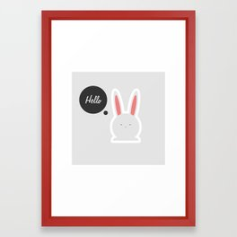 Hello Pets no.4 Framed Art Print