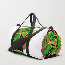 Alien B-Girl Selfie Duffle Bag