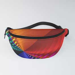 color explosion -1- Fanny Pack