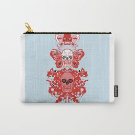 Triple threat skulls Carry-All Pouch