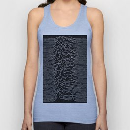 Unknown Radio Waves - Unknown Pleasures Unisex Tank Top