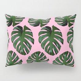 Pink Fronds Pillow Sham