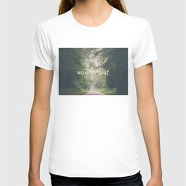 wanderlust ... T-shirt