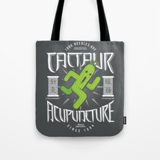 Cactaur Acupuncture Tote Bag