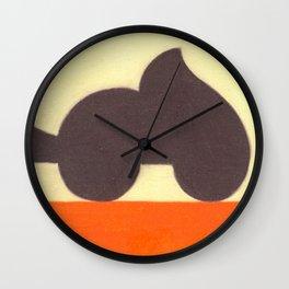 Wheels on Fire Wall Clock