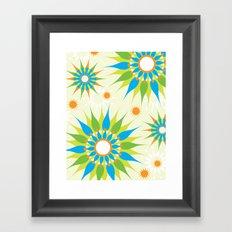 Popsy Twirl Bright Framed Art Print