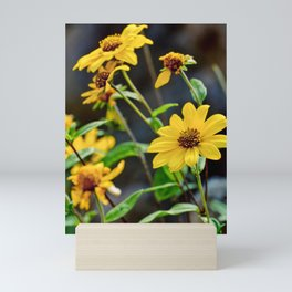 Yellow Flowers Mini Art Print