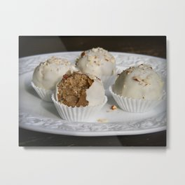 Fruit Cake Truffles: Take Two Metal Print