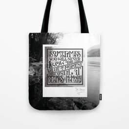 Value of a Moment Tote Bag
