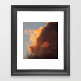 Love is in the mix Framed Art Print
