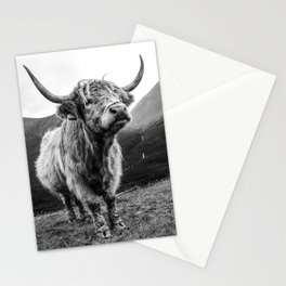 Highland Coo Stationery Cards