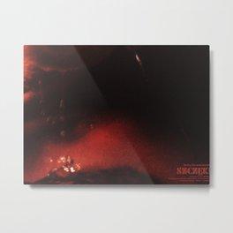 Szczeki/Jaws Metal Print