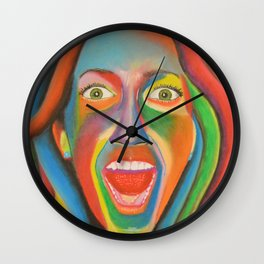 Pure Happiness Wall Clock