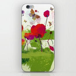 Spring's coming iPhone Skin