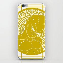 Stained Glass - Dragonball - Majin Buu iPhone Skin