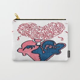 Broken Heart Broken Head Carry-All Pouch