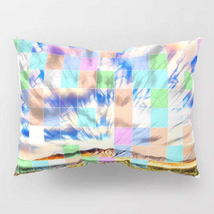 An Abstract Desert III Pillow Sham