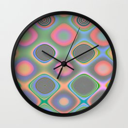 Crazy Candy's Abstract 2 Wall Clock