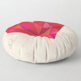 Heart geometry Floor Pillow