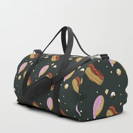 Donut pattern: Dark Duffle Bag