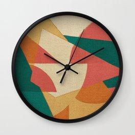 Pistacchio con Fragole Wall Clock