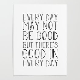 positive quote posters society6