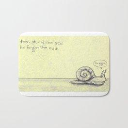 Snail Milk Bath Mat