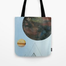 Moons and Mountains Tote Bag