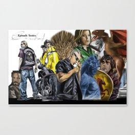 Episodes Canvas Print