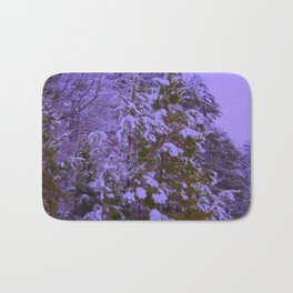 Royal Pines with Saturation, Warmify, and Glow Filters Bath Mat