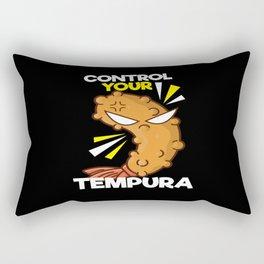 Control Your Tempura Japan Rectangular Pillow