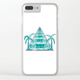 Line Up Clear iPhone Case