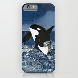 Killer Whale Orca iPhone Case