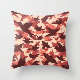Bird Camouflage 7 Throw Pillow