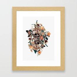 Fantasy Skull Framed Art Print
