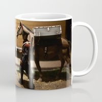 soldier Mugs featuring Toy Soldier by Rafael Andres Badell Grau