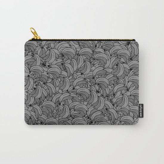 Plenty of Bananas - Gray Carry-All Pouch