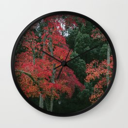 AUTUMN IN NARA Wall Clock