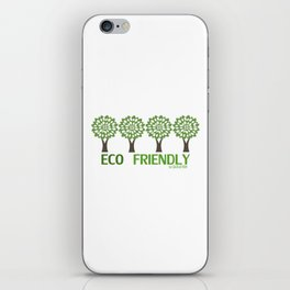ECO Friendly Collection - model 2 iPhone Skin