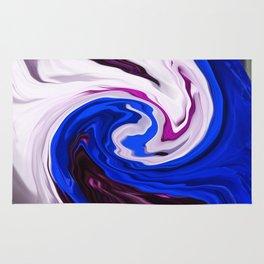 Painted Silk Rug