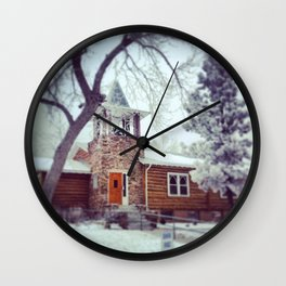 Church in the Vail Wall Clock