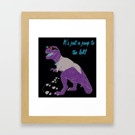 T-Warp Framed Art Print