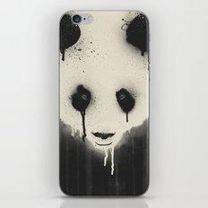 PANDA STARE iPhone Skin