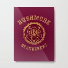 Rushmore Beekeepers Society Metal Print