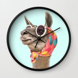 FASHION LAMA Wall Clock